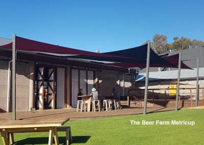 The Beer Farm Metricup Sail Shades by Cape Shades